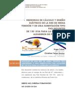 MEMORIAS_DE_CALCULO_Y_DISENO_ELECTRICO_PAD MOUNTED 150KVA.pdf