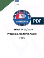 Edital Academic Awards 2019