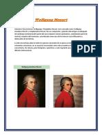 Informe de Wolfgang Mozart