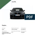 BMW X1 Grey Specs