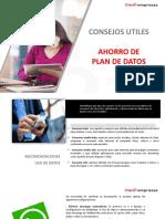 Consejos Ahorro Plan de Datos