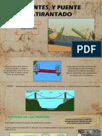 Puentes, y Puente Atirantado-estructuras II (Diapo)