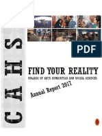 CAHSS 2016-17 Annual Report