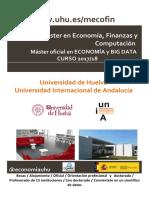 Economic Master Huelva