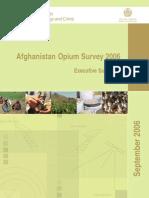 Un Afghanistan Opium Survey