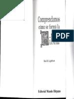 Comprendamos como se formo la biblia, CANON.pdf