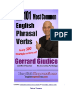 The 101 Most Common English Phrasal Verbs
