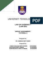 Test Evidence Teja Kill Sali (FINALE)