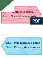 Indicatoare Cu Scrierea Corecta - Materiale Pentru Afisat