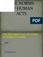 the Norms of Human Act