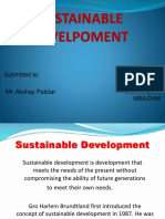 Sustainable Development Aditya Sharma