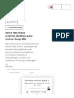 Palavra de Especialista _ Bons Projetos Didáticos Para Ensinar Geografia