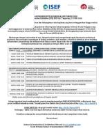 2018 Undangan & Daftar Pembicara Forum Isef & Indobuildtech