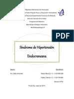 1. Sx. Hipertensión Endocraneana