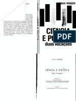 Max Weber - CieNcia e PoliTicaduas VocacoEs