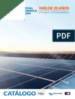 Catalogo Web Energia Solar 2017