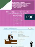 Roles del juez en DDHH en Venezuela