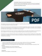 02 Projeto Mesa de Impressao Simples Fixa Na Parede Curso de Silk Screen