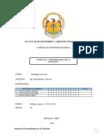 Facultad de Ingeniería y Arquitectura Semana 04 Mirka