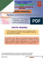 Tacto Vaginal Martes