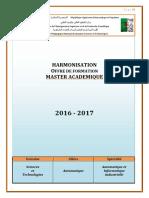 Programme Master Automatique_et_Informatique_Industrielle +++++++++++++++