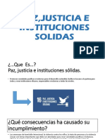 Pazjusticia e Instituciones Solidas
