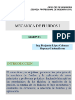 Definición y propiedades de fluidos