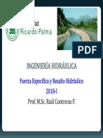 Cap N° 5-Fuerza Específica y Resalto Hidráulico.pdf