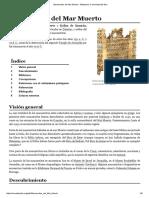 Manuscritos del Mar Muerto - Wikipedia, la enciclopedia libre.pdf