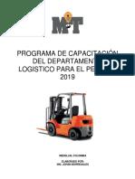 Programa de Capacitacion Logistica 2019