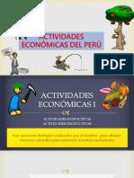 Actividades Económicas Extractivas