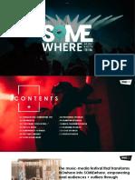 Somewhere Festival - Sponsorship Kit