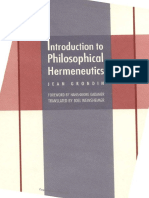 [Yale Studies in Hermeneutics] Jean Grondin, Joel Weinsheimer - Introduction to Philosophical Hermeneutics (1997, Yale University Press).pdf