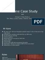mr kane case study