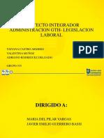 integrador gth- legislacion
