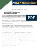 Comentários - Direito Constitucional Técnico Geral