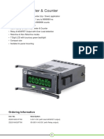 Digital HourMeter and Counter Z2221N0G2FT00