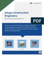 Ahuja Construction Engineers