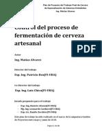 Control del proceso de producción de la cerveza artesanal