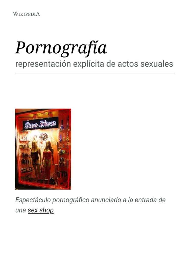 Actores Porno De Color Wikipedia pornografía - wikipedia, la enciclopedia libre.pdf
