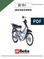 Repuestos Beta Bs 110-1