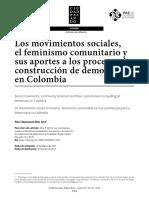 Los movimientos sociales, el feminismo comunitario y sus aportes a los procesos de construcción de democracia en Colombia.pdf