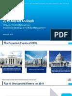 2019 Market Outlook Citibank