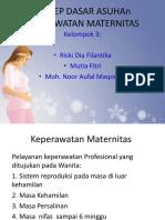 Konsep Dasar Kep. Maternitas(1)