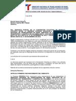 Denuncia de Convension Brasilia