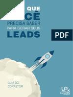 E-Book Gerar Leads Guia Do Corretor