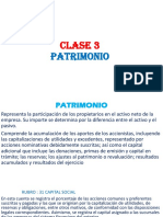 clase 3 patrimonio