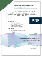 Informe Geotécnico Proyecto de Exploracion
