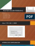 Exposicion Teleinformatica Router