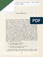 DECADÊNCIA. França Fin-De-siècle. WEBER, Eugen.